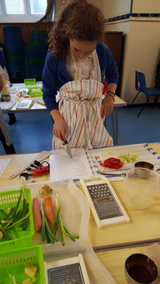 Live Learn Cook Primary School Club