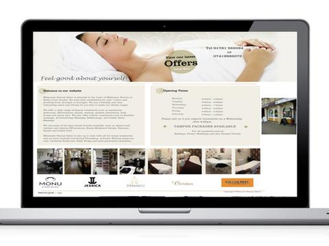 Midsomer Beauty Salon Website