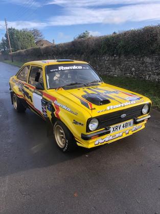 TG Motorsport Rally Car