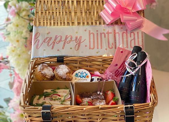 Prosecco Birthday Hamper Pink