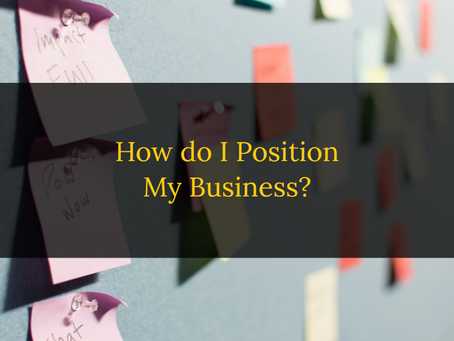 How to Position Your Business