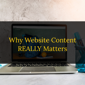 Why Website Content Is Important (Even for a Small Business)