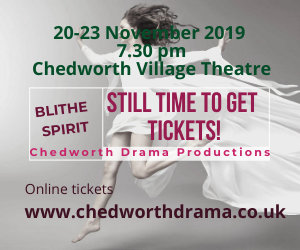 Still time to get tickets for Blithe Spirit