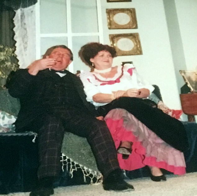 When We Were Married 2001 Elaine Lunt an