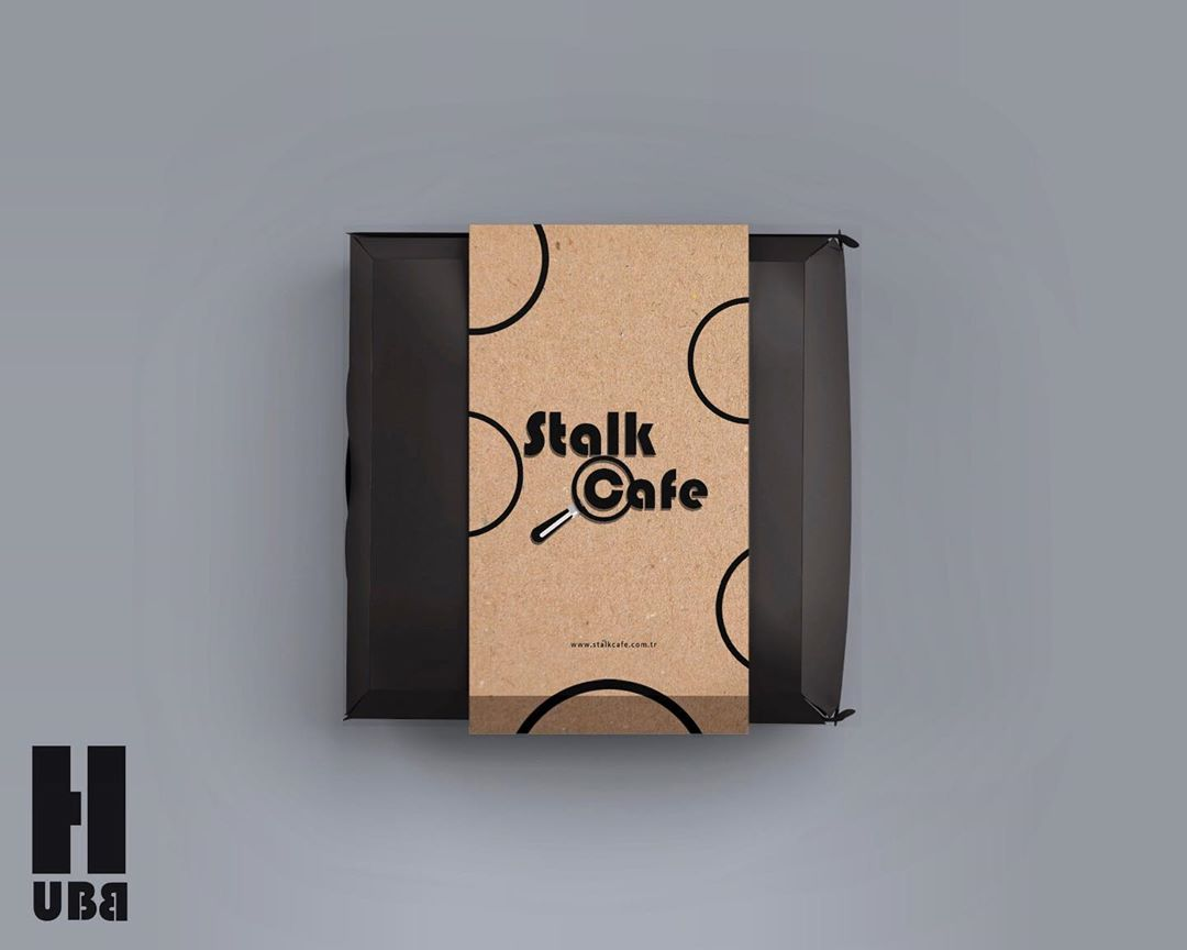 Stalk Cafe Burger Paket Tasarımı