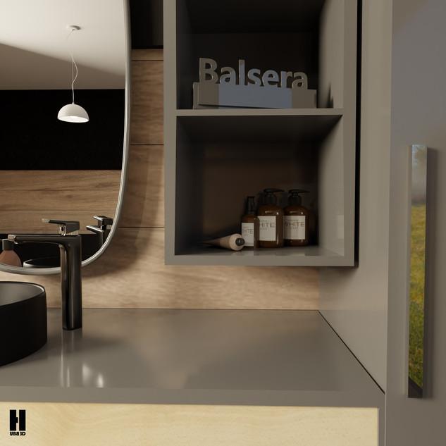 Balsera 3D Lavabo Tasarımı