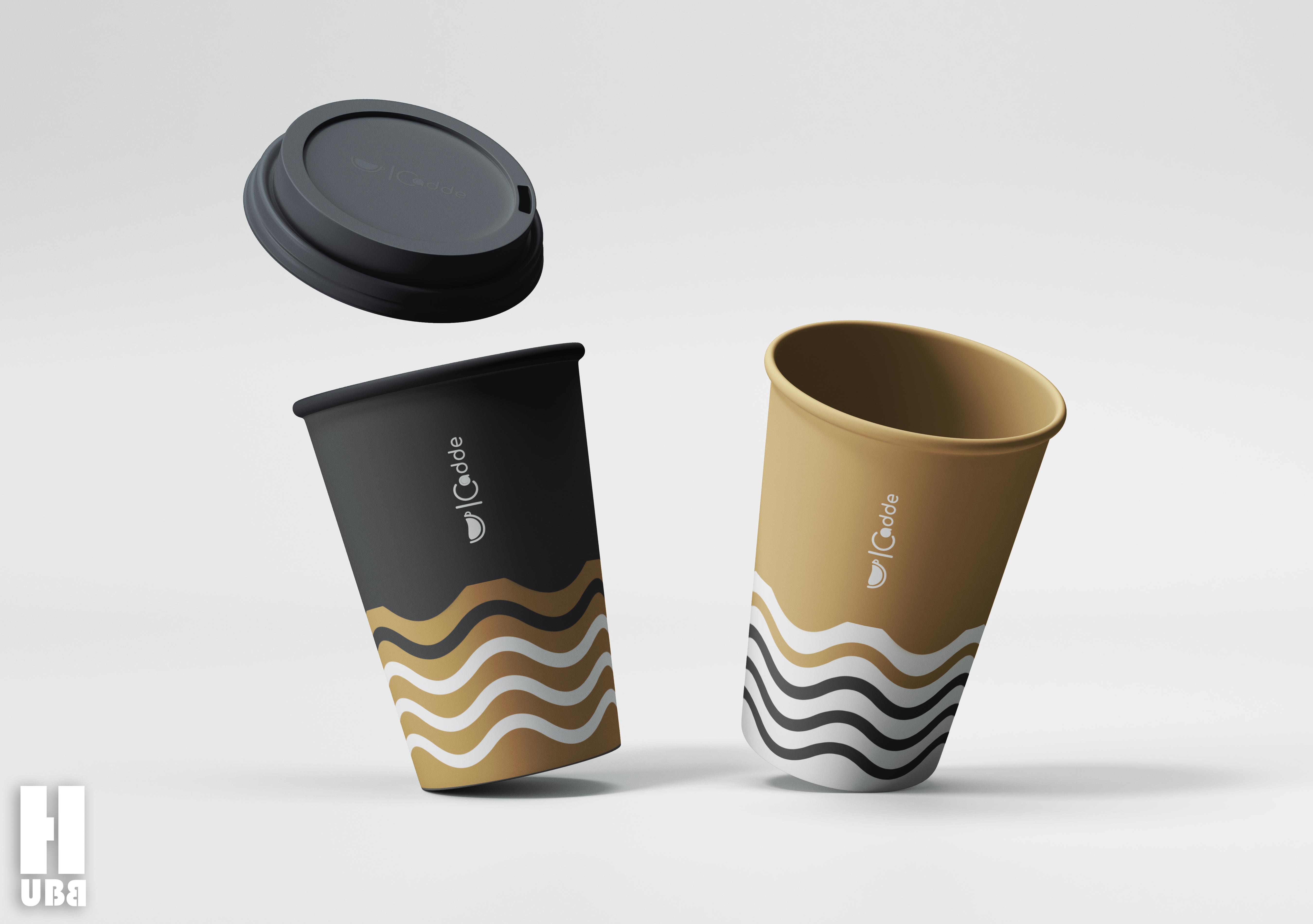 Cadde Cafe cup tasarımı