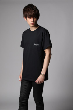 Pocket logo T-shits black