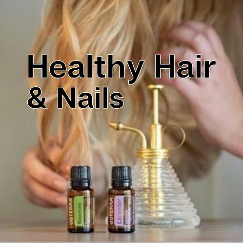 Healthy Hair & Nails Guide