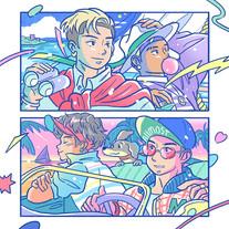 2021.06.18_maeshima soshi & ALLMO$T / Fly [SG]