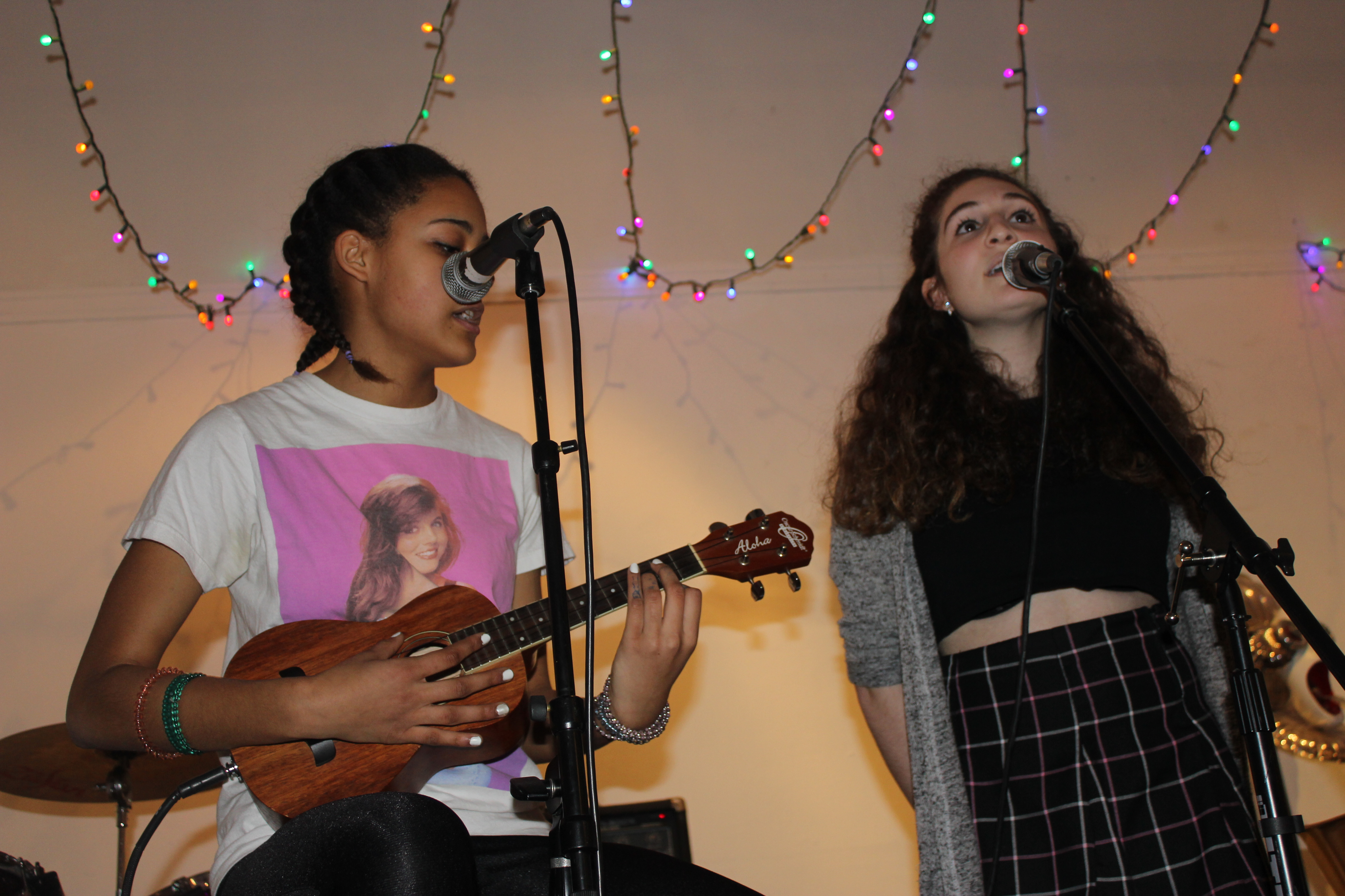 Safiya Sirota and Maddie Dolinsky