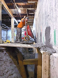 Foundation Underpin Ottawa contractors B
