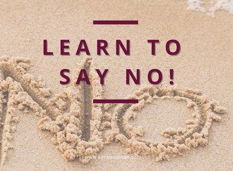 LEARN HOW TO SAY NO BY ASKING YOURSELF 3 IMPORTANT QUESTIONS!