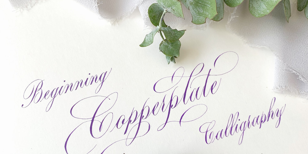 2/25: Beginning Copperplate Calligraphy with Benjawan