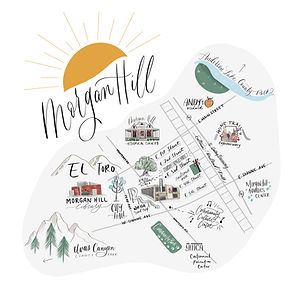 Morgan Hill Map, 2019
