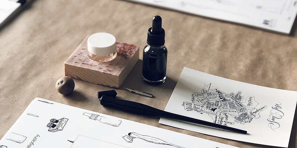 9/18: Get Started with Pointed-Pen Calligraphy with Queeny Lu