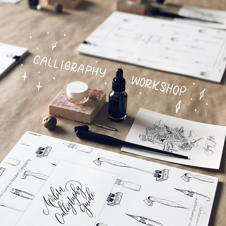 9/25 | Pointed-Pen Calligraphy Workshop with Queeny Lu | Beginner-Level