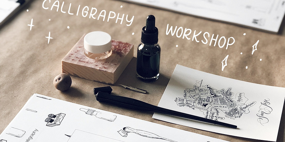 Pointed-Pen Calligraphy Workshop with Queeny Lu | Beginner-Level