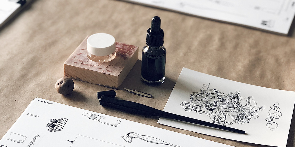 8/29: Get Started in Pointed-Pen Calligraphy with Queeny Lu