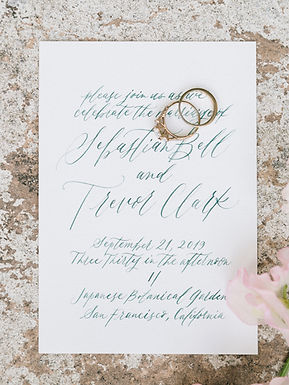 Elegant Wedding Invite, 2019
