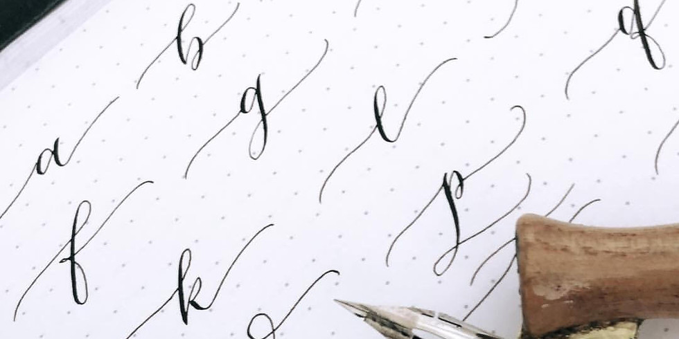6/22: Intro to Pointed-Pen Calligraphy with Amanda Nguyen