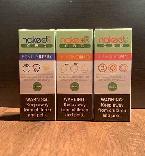 Naked 100 CBD Vape Liquid