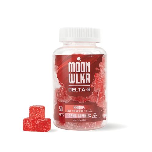 Delta-8 THC Gummies - Sour Strawberry Diesel
