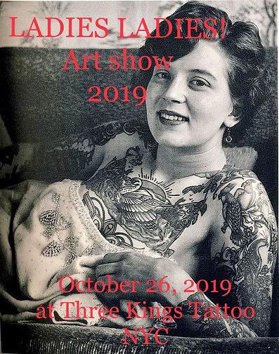 LadiesLadies! art show 2019