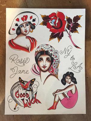 ROSIE EVANS for LLAS2019