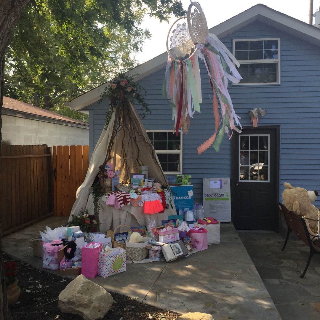 Backyard Baby Shower