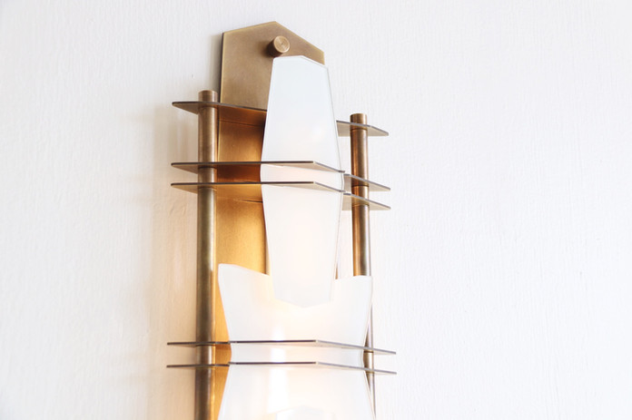 Covenant Wall Sconce - Aged Brass