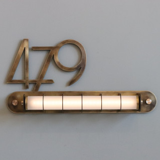 Distance House Numbers