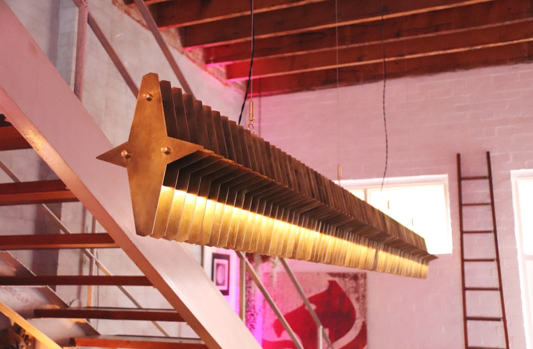 Custom lights at Projekt 3488