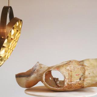 Surgeon 500 in Aged Brass with Blonde Brass cage