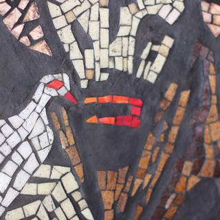 Saint Francis of Assisi mosaic