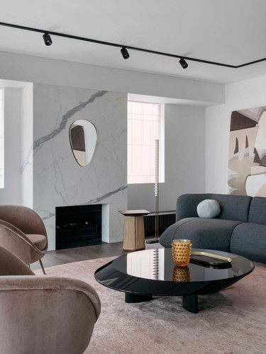 Distance Floor Lamp - Nina Maya Interiors - Photography by Felix Forrest