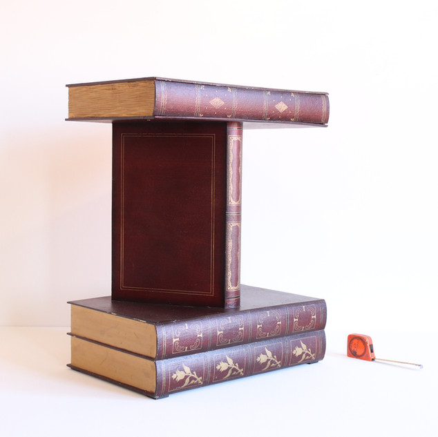 Giant Books side table