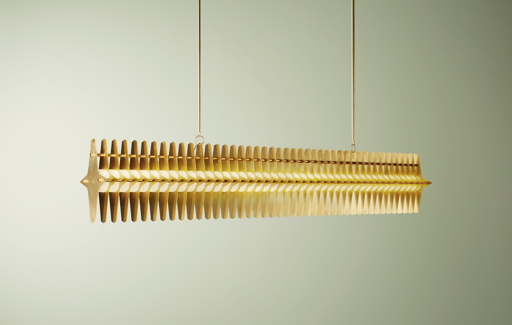 Colossal 1800mm, Blonde Brass