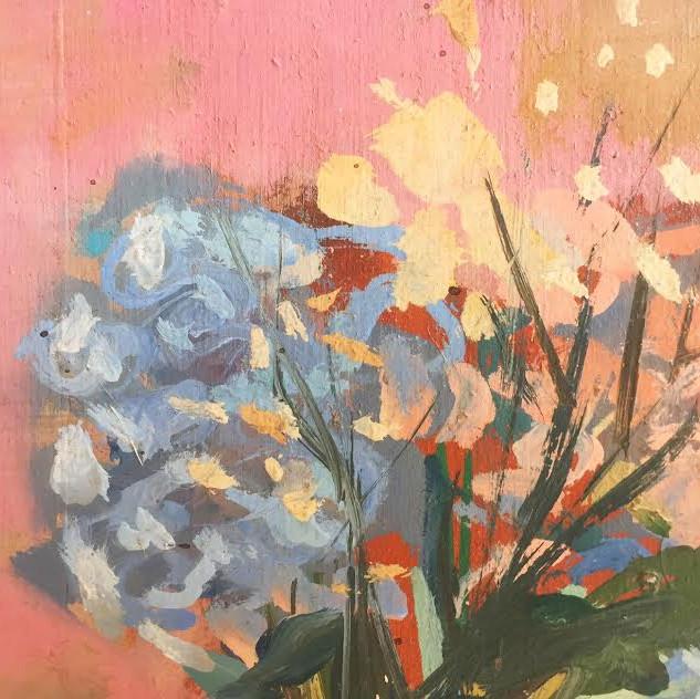 Small still life painting