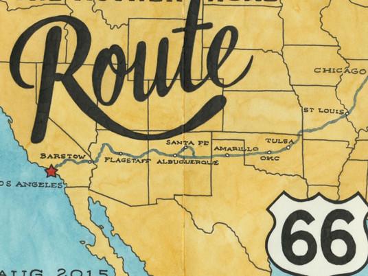 Route 66 - Мать дорог/Русское географическое общество