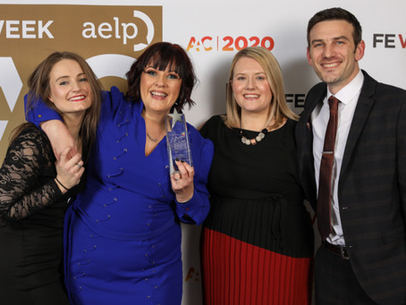 Business and Administration Apprenticeship Provider of the Year 2020!