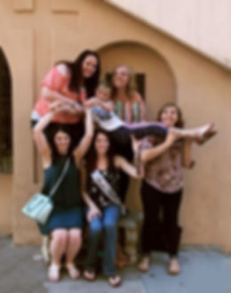 Bachelorette party plays Operation City Quest scavenger hunt