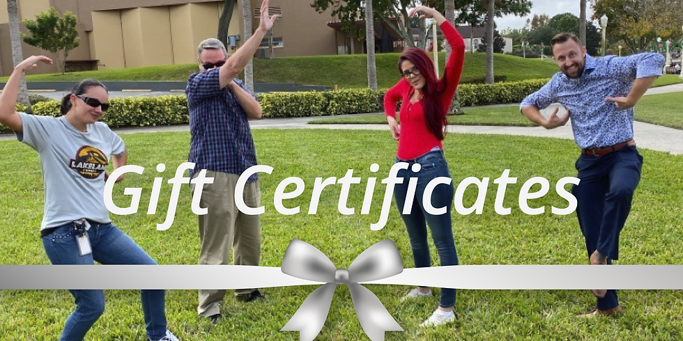 Gift Certificate Tickets - United States