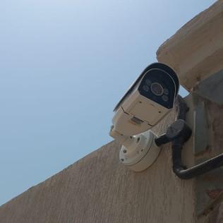CCTV on a farm