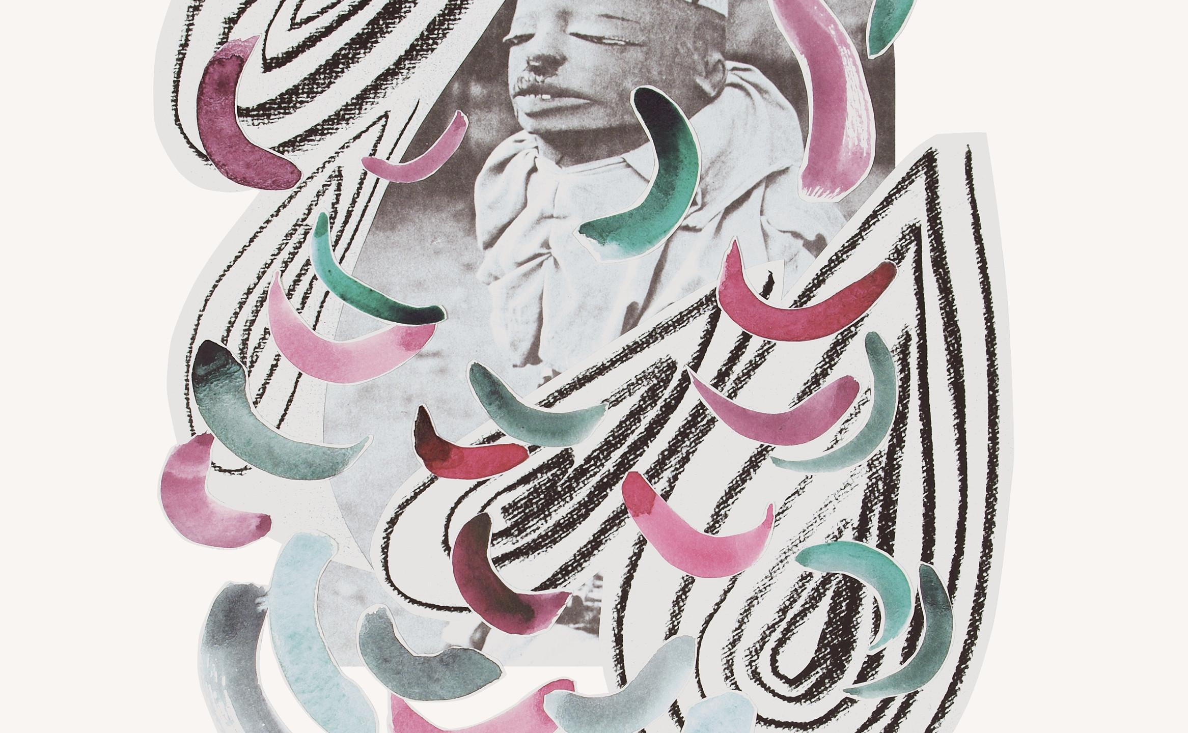 Redux, Larita Engelbrecht, Mixed Media Collage on Paper, 48 x 37cm (2333x3000)