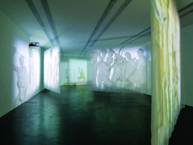Minette Vari, installation at Standard Bank Gallery