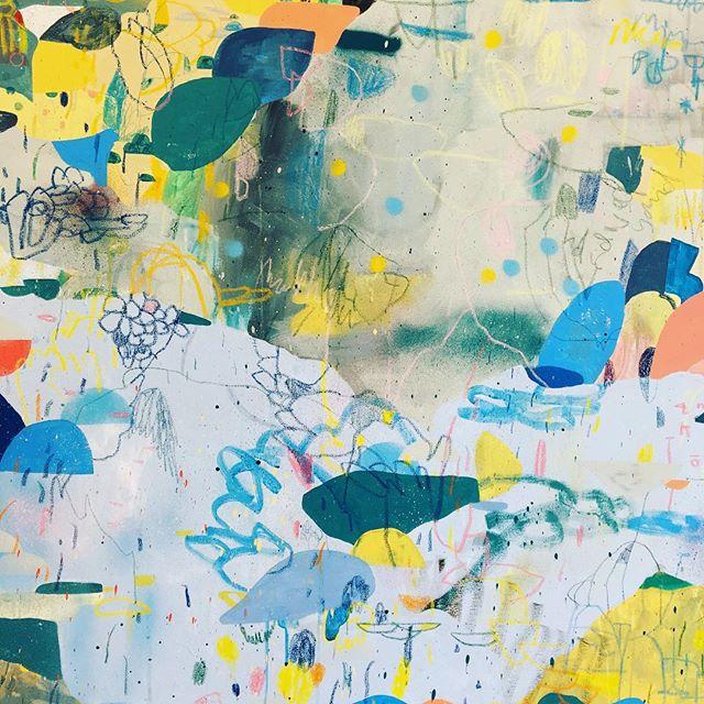 _paul_senyol _lizamoregallery 35th anniversary show #painting #abstraction #artcrawl #Joburg #exhibition
