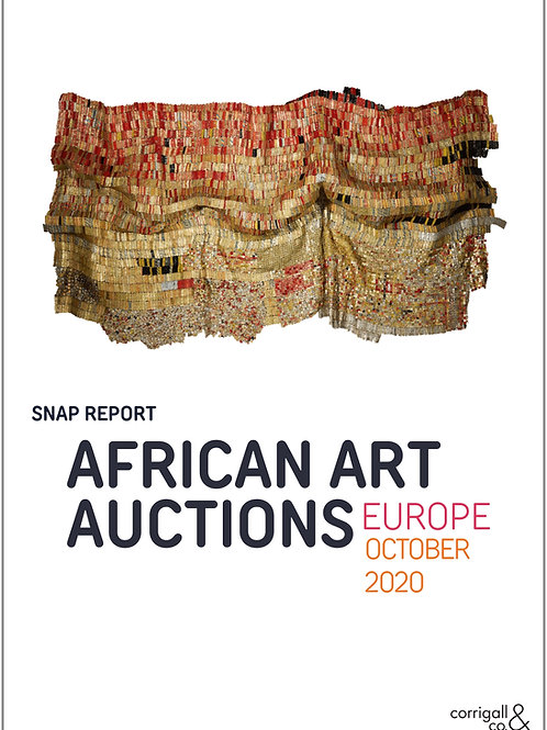 African Art Auctions Europe, October 2020