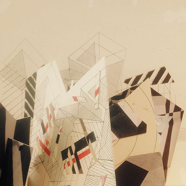 Where architectural drawing-models and pop-up-book design meet in Stephen Hobbs's show Permanent Culture