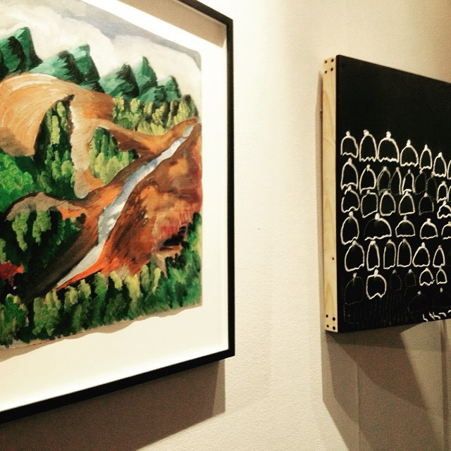 An art historical show with an expressive element. This best describes Kemang Wa Lehulere's SBYAA work
